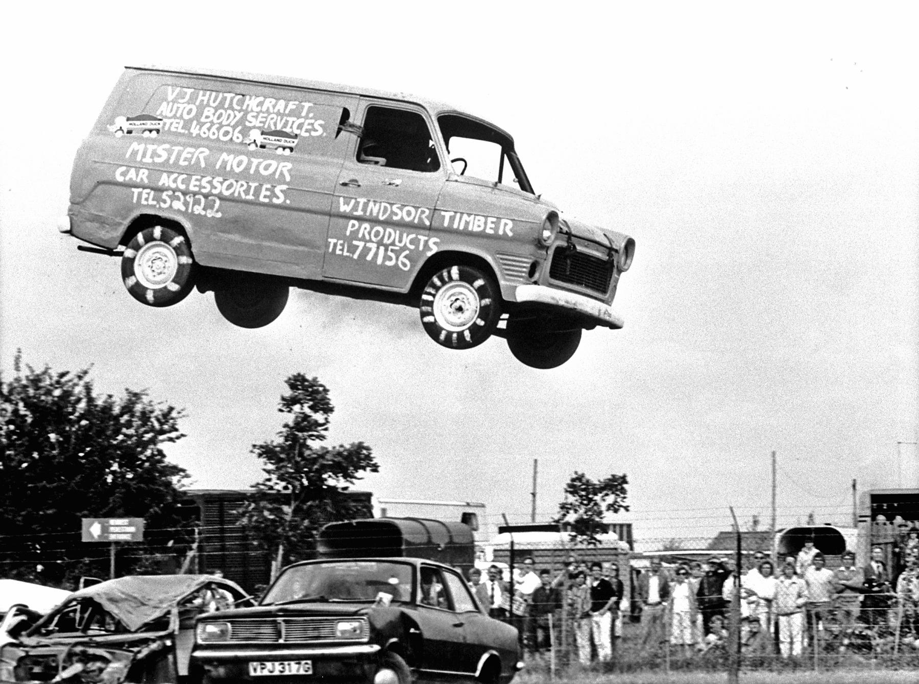 Flying Ford Transit