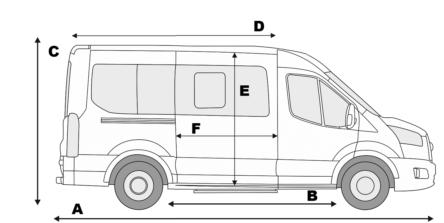 Ford Transit Dimensions >> Ford Transit Mk8 Specifications Transit Center All