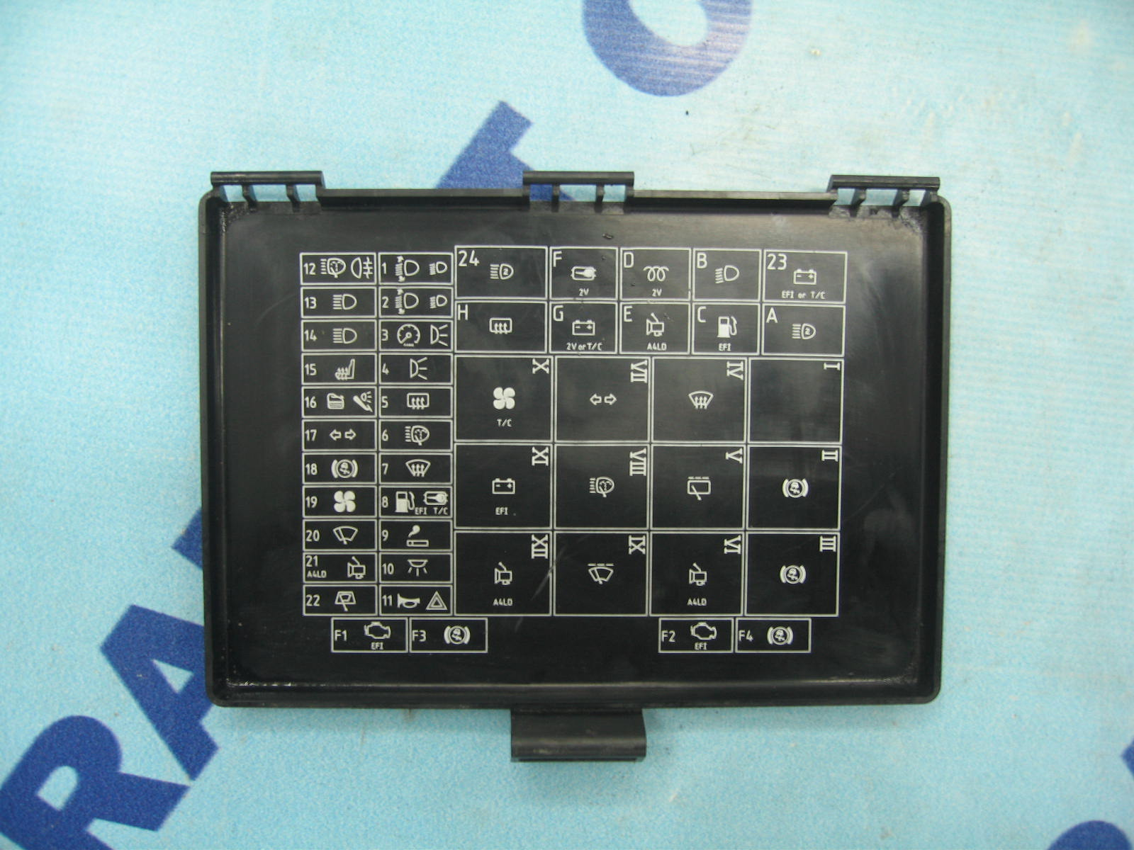 fuse box flap ford transit