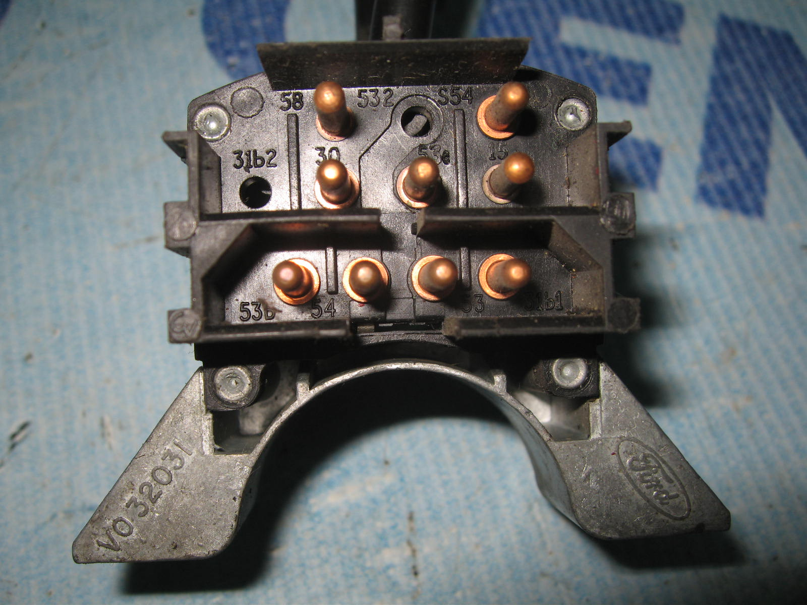 Light And Wiper Switch 9 Pin Ford Transit 1978 1985