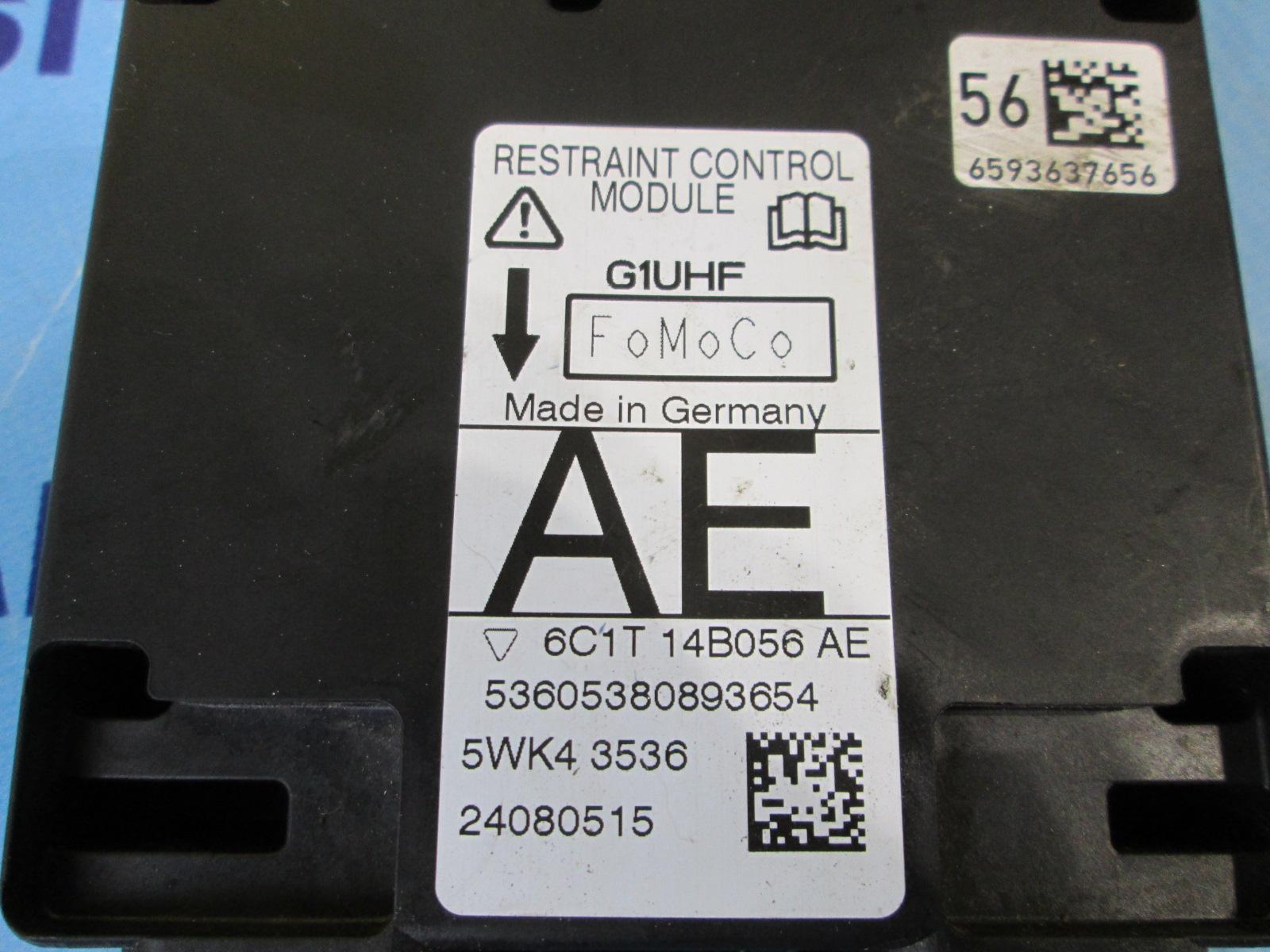 FORD TRANSIT MK7 AIRBAG MODULE 2006-2013 6C1T 14B056 AE