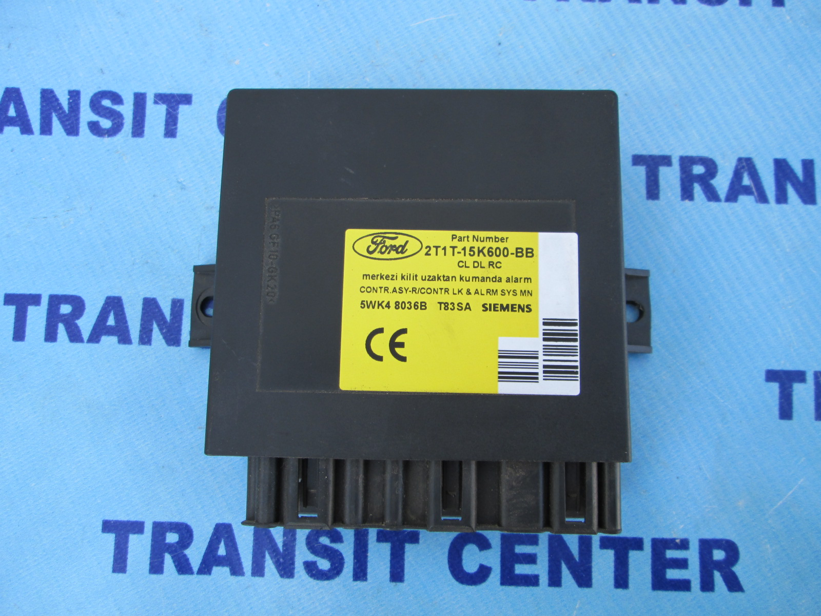 Used Ford Transit Connect >> Central locking control module Ford Transit Connect 2002