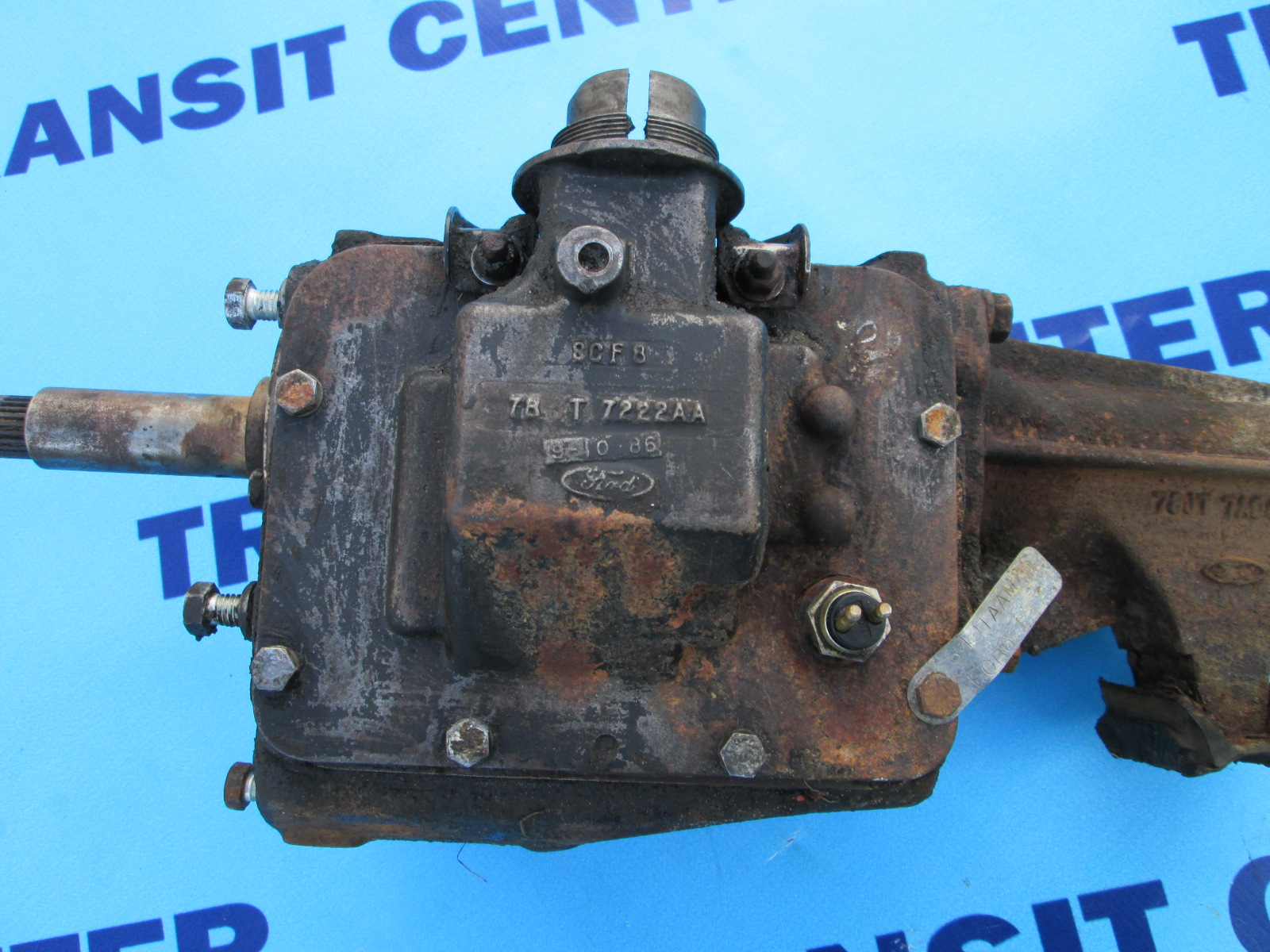 Used Ford Transit Connect >> Four-speed gearbox diesel Ford Transit 1978-1988