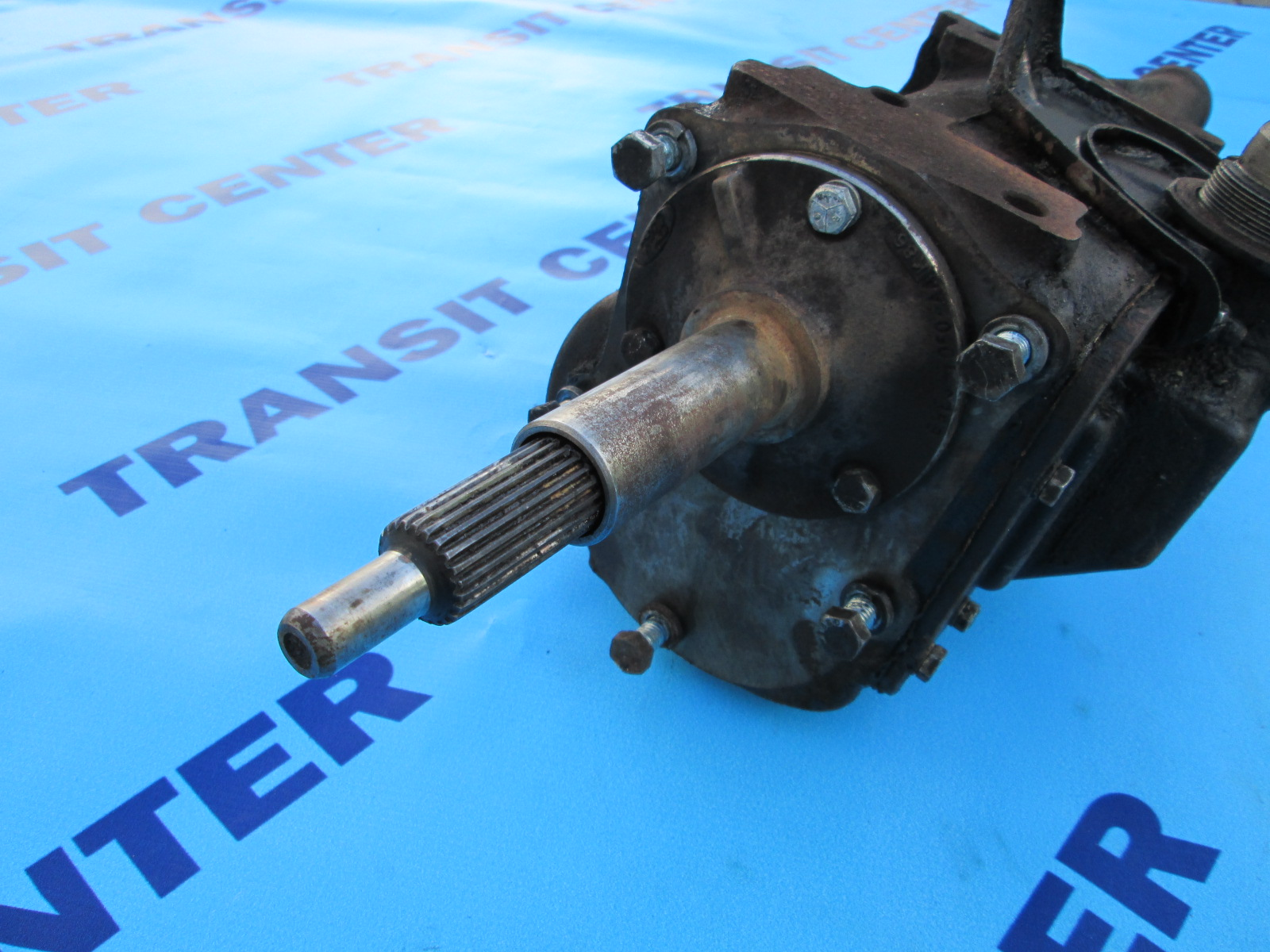 Ford Transit Connect >> Four-speed gearbox diesel Ford Transit 1978-1988