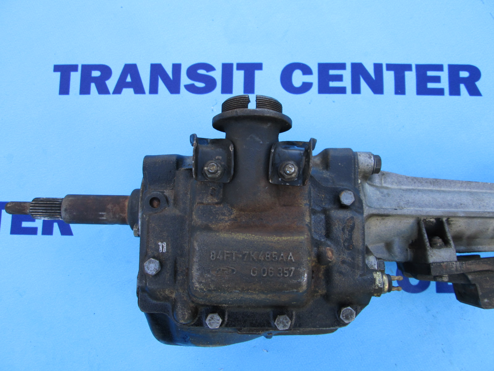 Ford Repair Shop >> Four-speed gearbox petrol OHC Ford Transit 1978-1988