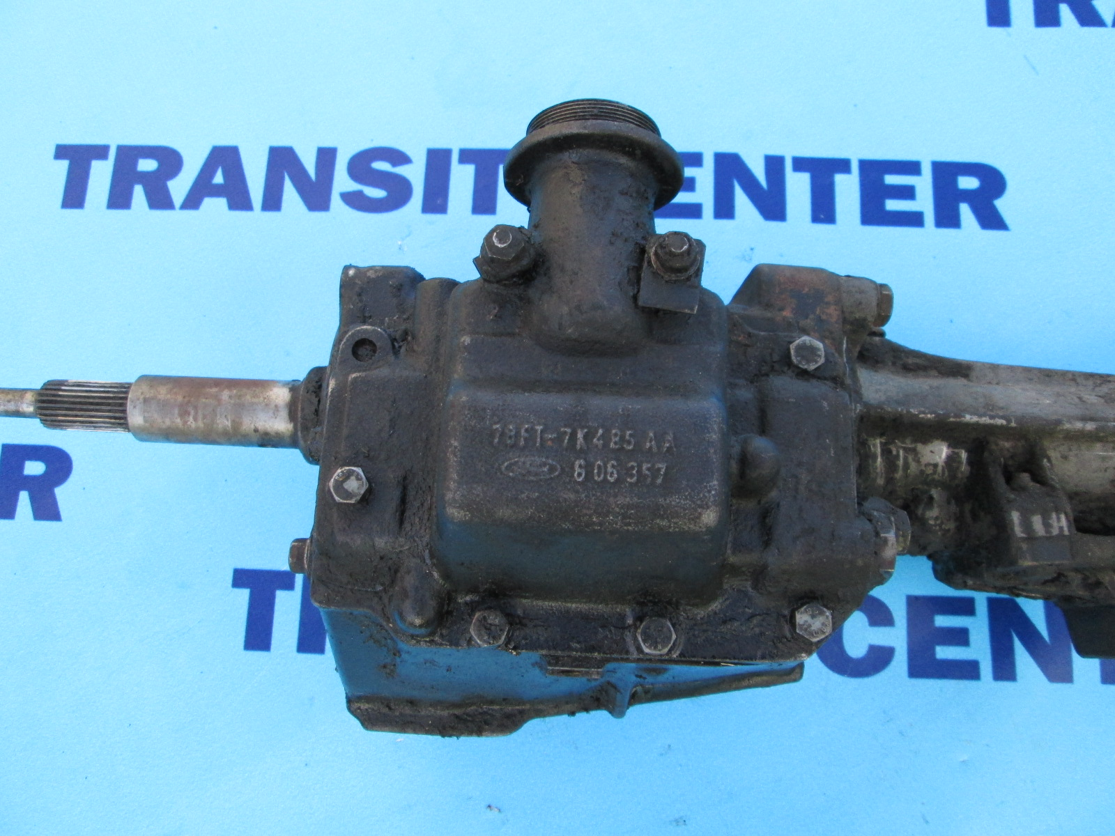 Used Ford Transit Connect >> Four-speed gearbox petrol OHC Ford Transit 1978-1988