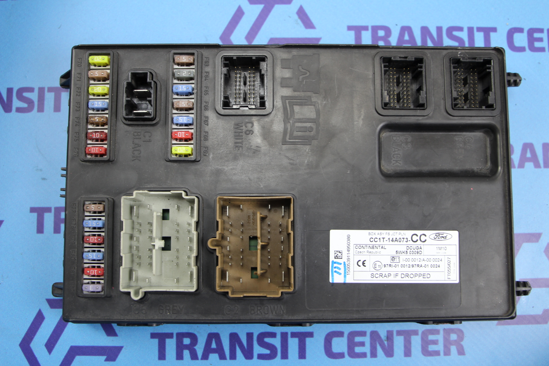 electrical system and ignition for ford transit mk7 fuse box ford transit 2006 2013