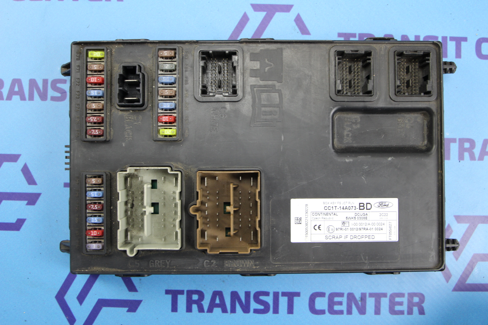 Transit Fuse Box Auto Electrical Wiring Diagram Ford Manual 2006