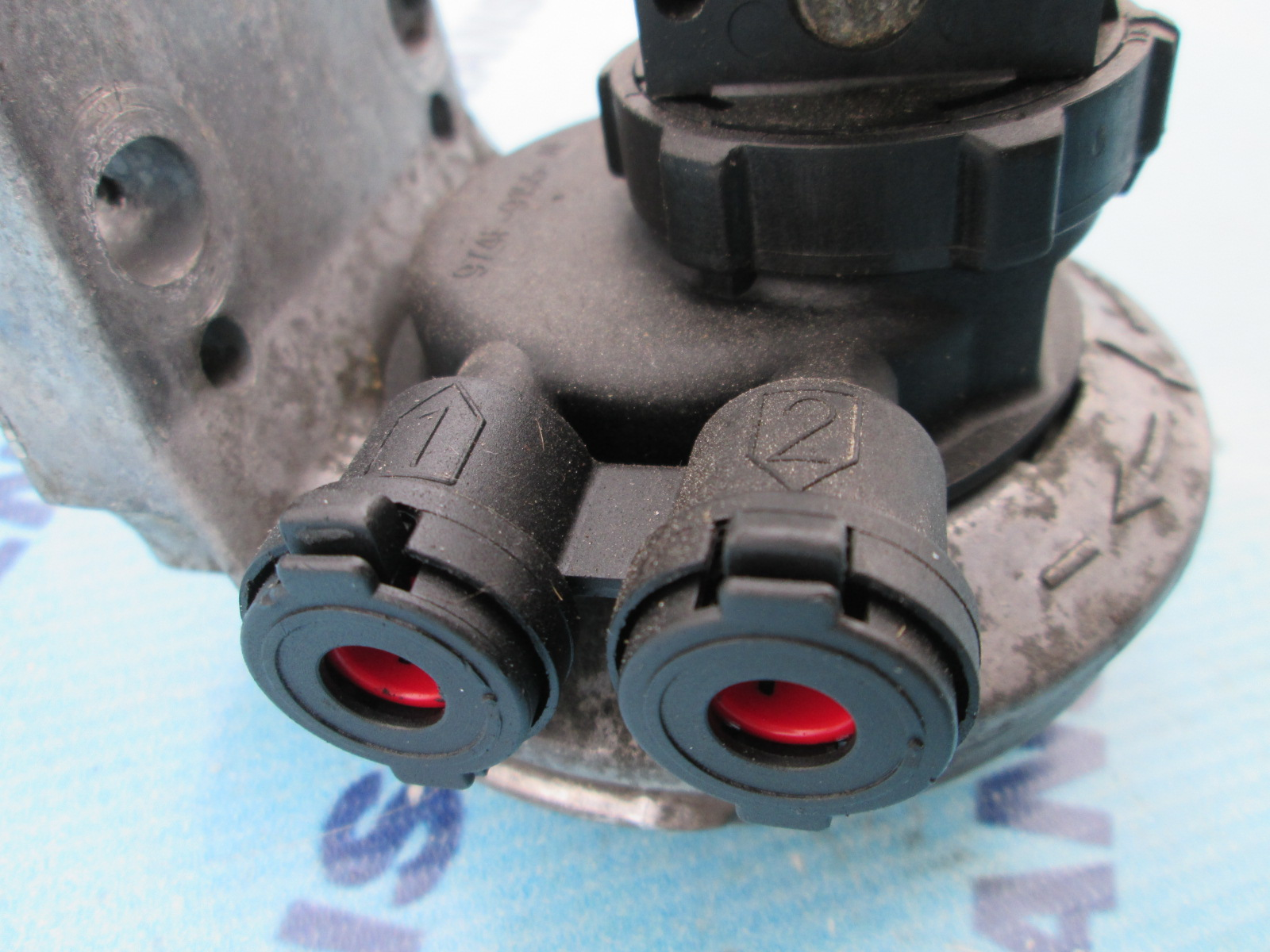 Ford Transit Connect >> Fuel filter housing Ford Transit 1997, 2.5 Diesel.