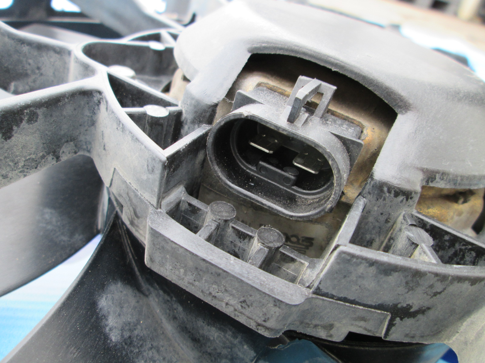 Used Ford Transit Connect >> Radiator fan Ford Transit Connect, with Air Conditioning