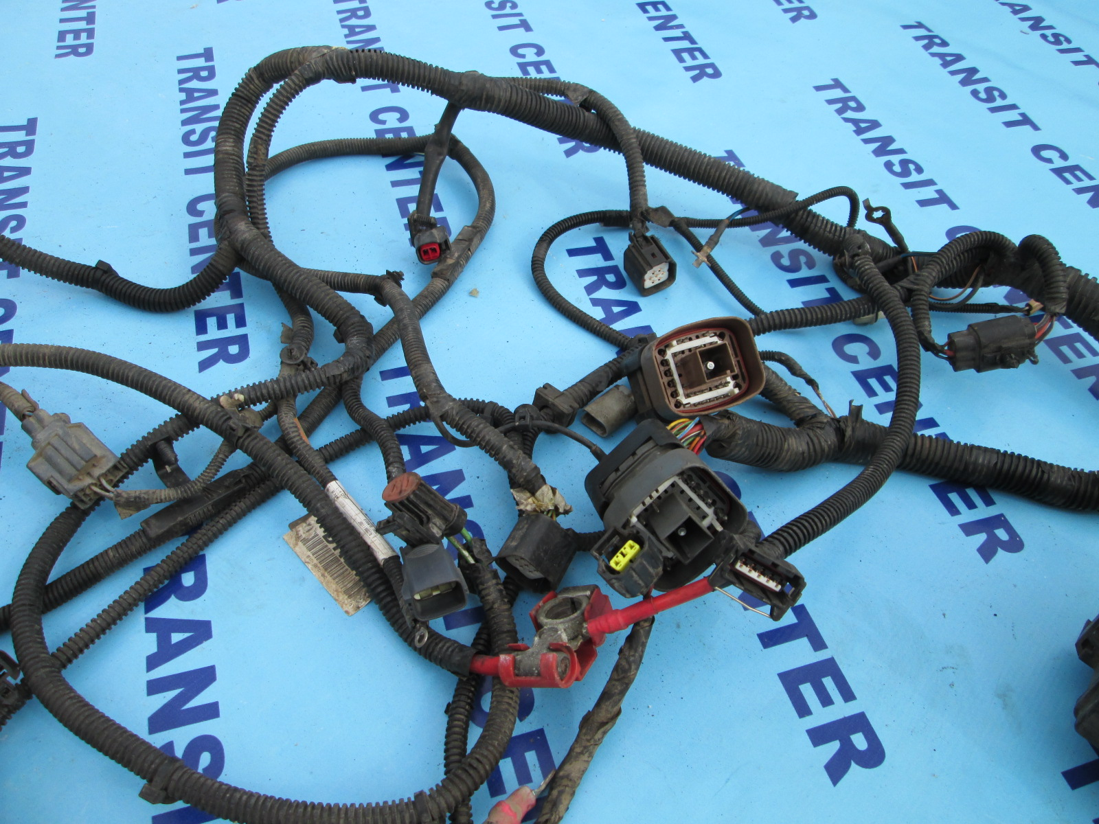 Wiring Loom Harness Under Bonnet Ford Transit Connect 2009  1 8 Tdci 75