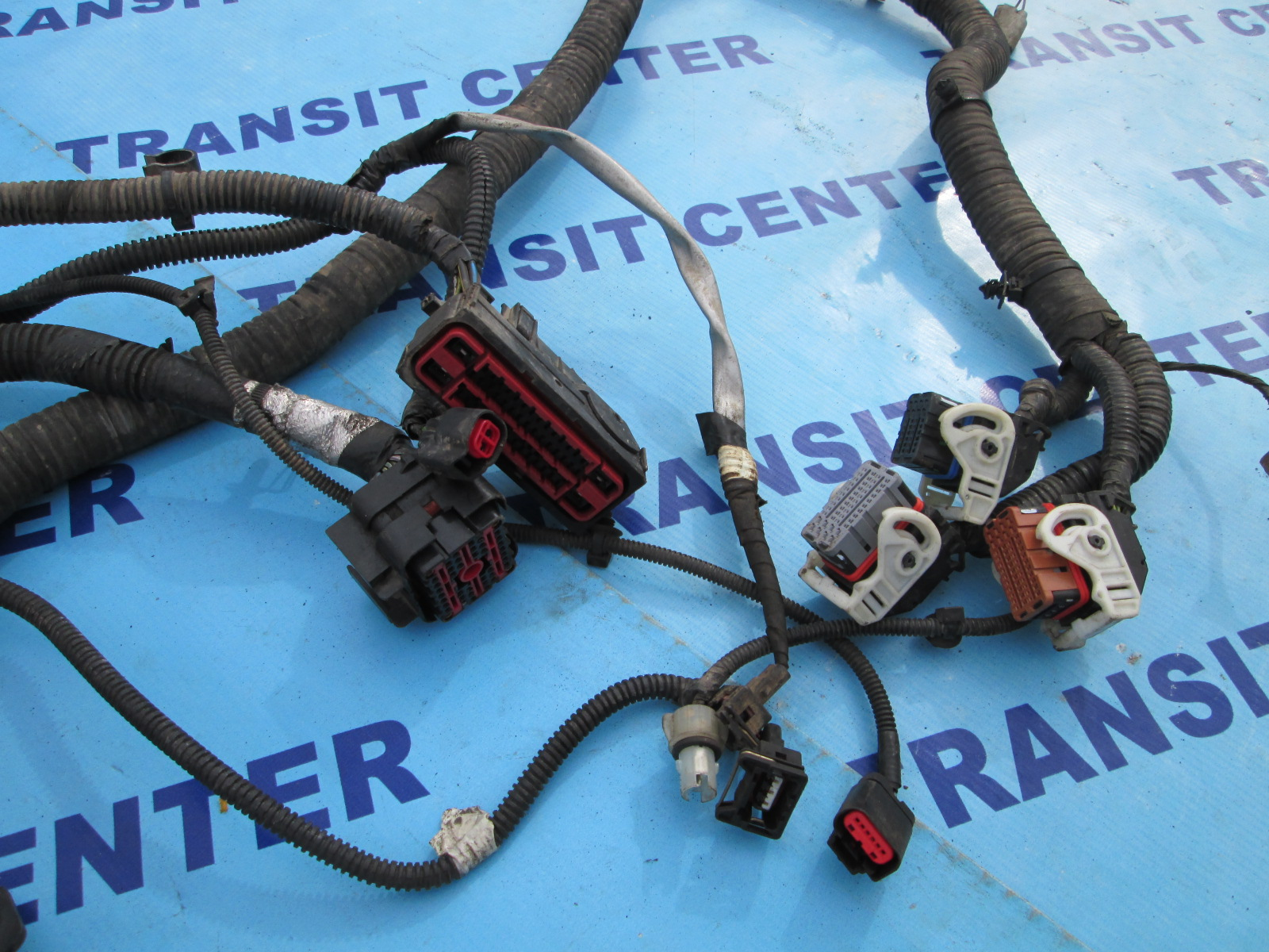 Wiring Loom Harness Under Bonnet Ford Transit Connect 2009