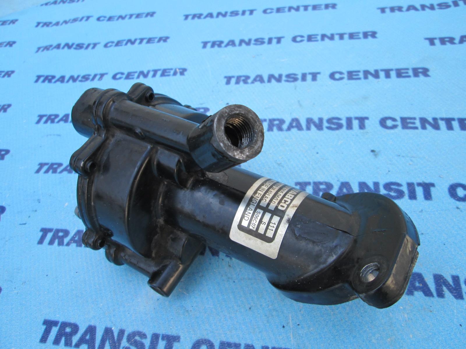 Hook up vacuum pump