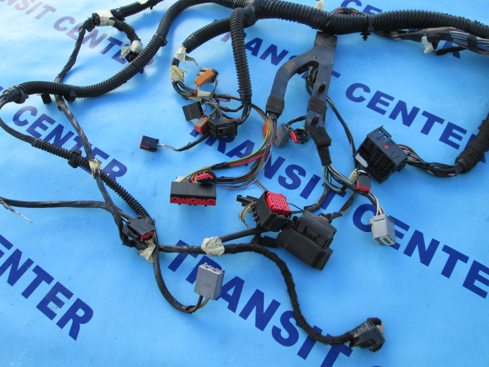 ford transit dashboard wiring loom 4472 2 dashboard wiring loom harness ford transit connect 2009, rhd 2013 Ford Transit Connect Interior at mifinder.co