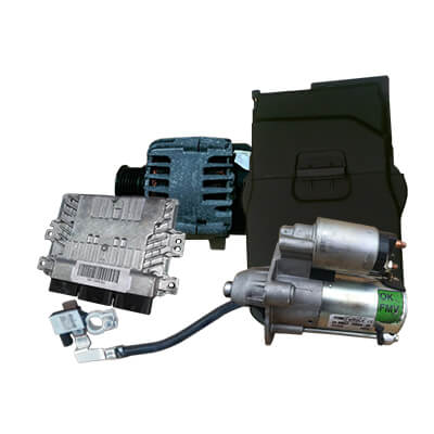 Electrical system, ignition