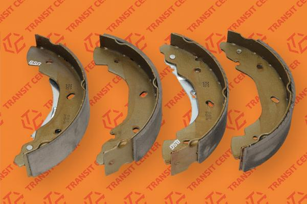 Brake shoe set 15\'\' BSG Ford Transit 2000-2006