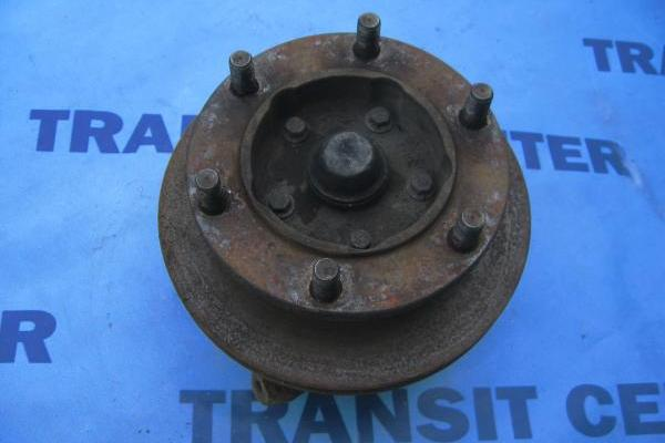 "Front left spindle with hub single wheel 15"" transit 1991-2000"