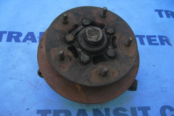 "Front right spindle with hub 14"" wheel transit 1986-1991"