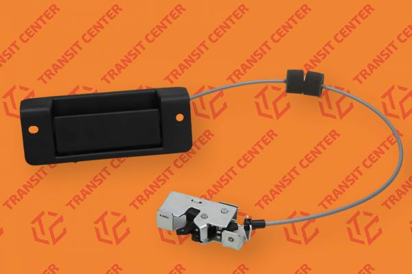 Rear bottom left door lock with link Ford Transit 2000-2013 Trateo