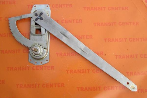 Left front window regulator Ford Transit 1994, manual.