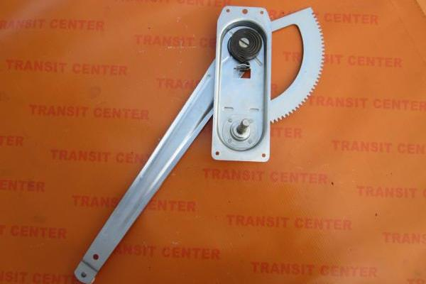 Right front window regulator Ford Transit 2000, manual.