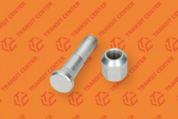 Right rear wheel stud and nut Ford Transit 1978-1991
