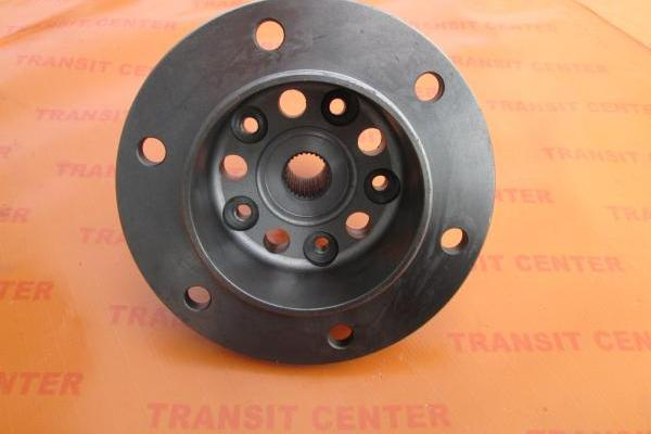 Front hub Ford Transit 2000, double wheel.