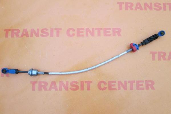 Gear shift cable Ford Transit FWD  2000, blue.