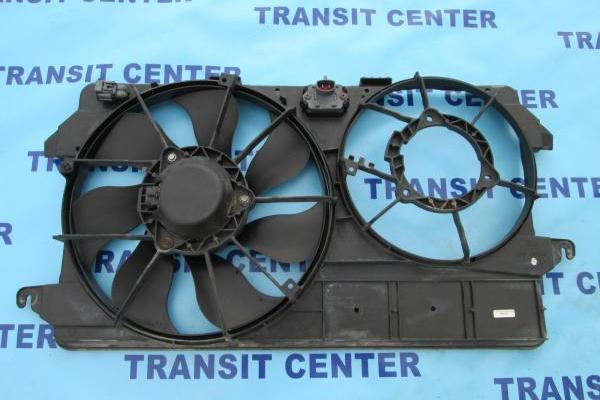 Radiator fan Ford Transit Connect, with Air Conditioning