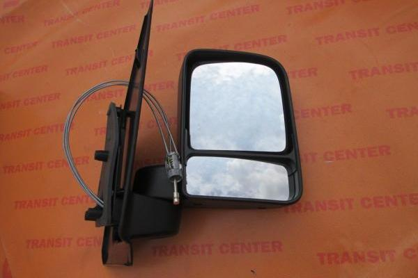 Mirror Ford Transit Connect, right manual LHD.