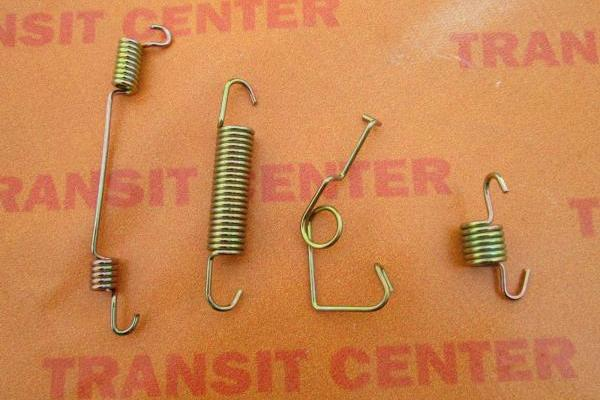 Rear Brake Spring Fitting Kit Ford Transit 1991 left 14 wheel