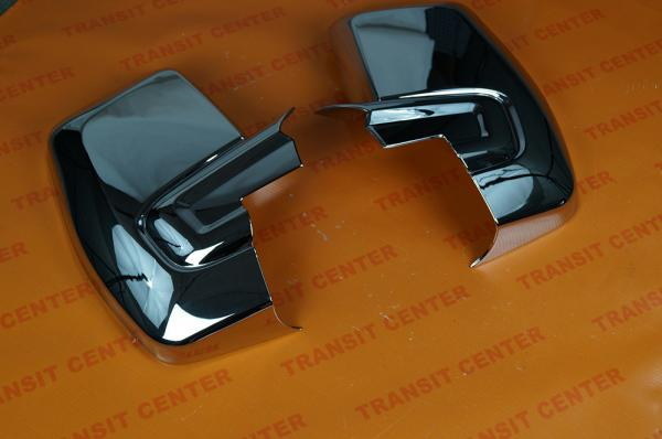 Chromed mirror housing Ford Transit Custom Trateo