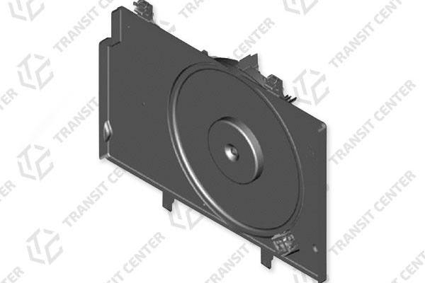 Radiator fan housing with fan Ford Transit Courier 1.5 with AC ET76-8C607-GB