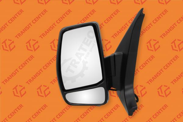 Mirror left Ford Transit Custom electric 8 pin Trateo
