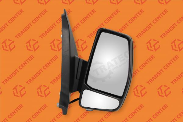 Mirror right Ford Transit Custom electric 8 pin Trateo