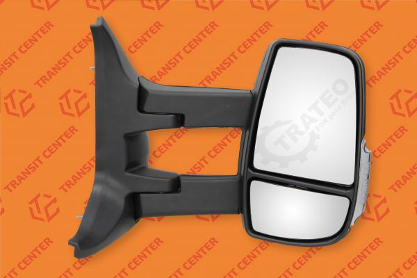 Mirror right long arm Ford Transit 2014 electric 6 pin Trateo