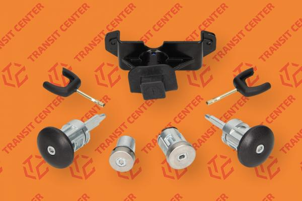 Locking cylinder set Ford Transit MK7 Trateo