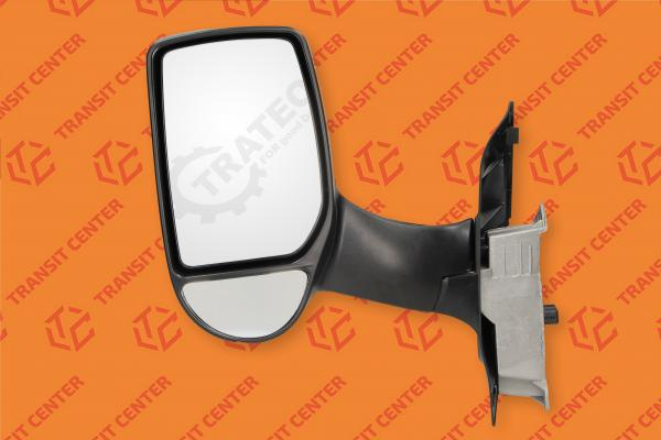 Left long arm electric mirror Ford Transit 2000-2013 Trateo
