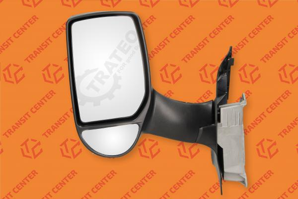 Left long arm manual mirror Ford Transit 2000-2013 Trateo