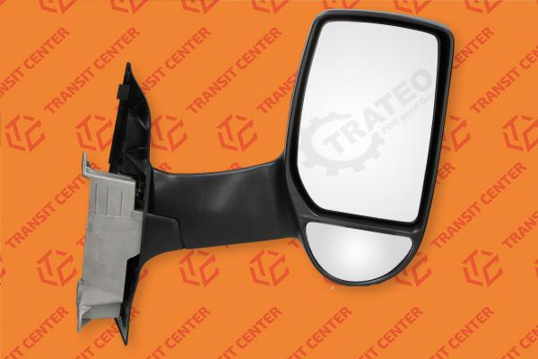 Right long arm manual mirror Ford Transit 2000-2013 Trateo