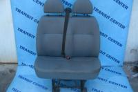 Double leatherette passenger seat Ford Transit 2003-2013