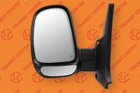 Left short arm electric mirror Ford Transit 1994-2000