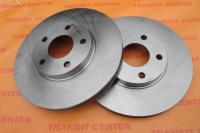 Brake disc Ford Transit Connect, front