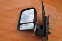 Mirror Ford Transit Connect, left manual LHD.