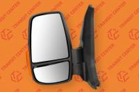 Left mirror Ford Transit 2014 short arm with orange indicator light 6 pin