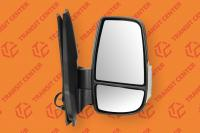 Right mirror Ford Transit 2014 short arm with white indicator light 8 pin