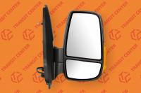 Right mirror Ford Transit 2014 short arm with orange indicator light 8 pin