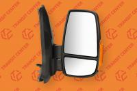 Right mirror Ford Transit 2014 short arm with orange indicator light 6 pin