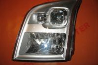 Headlight left manual Ford Transit 2006-2013
