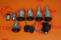 Locking cylinder set of Transit Connect MK1 Trateo